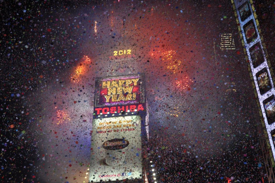 Celebration in the 'Big Apple': SMP hosts trip to Times Square for New Year's